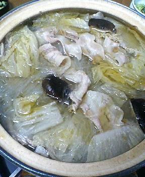 白菜豚肉鍋
